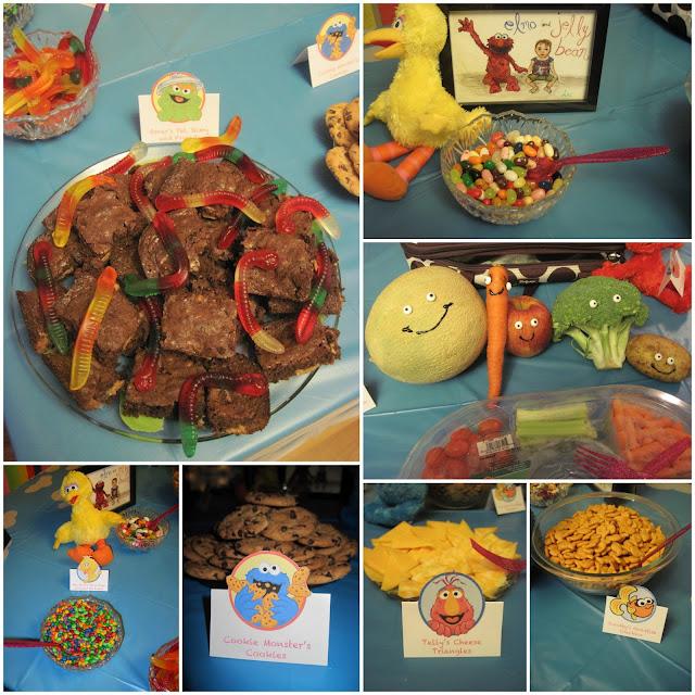Sesame Street Party Food Ideas