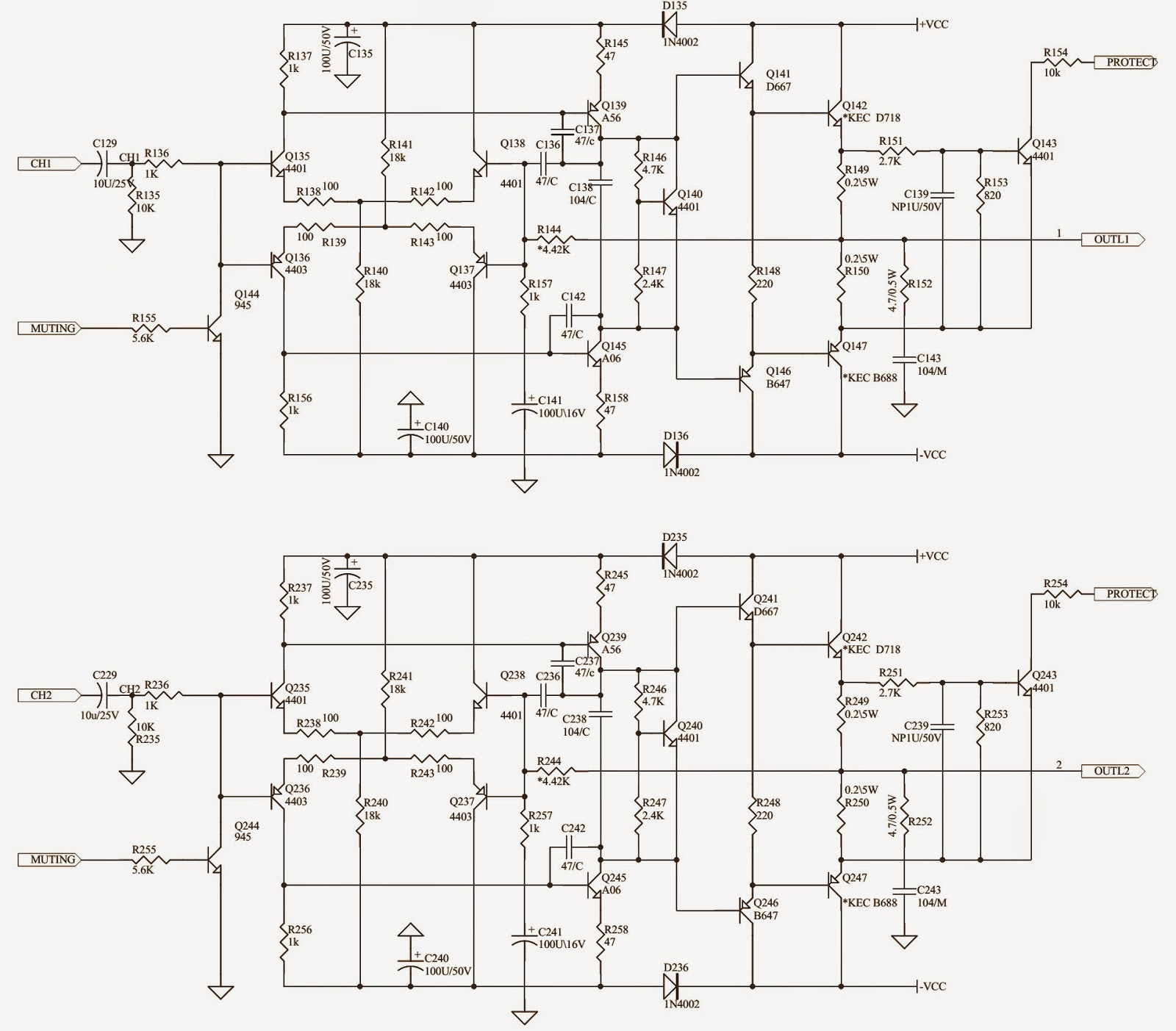 8 Pin Op Amp Schematic