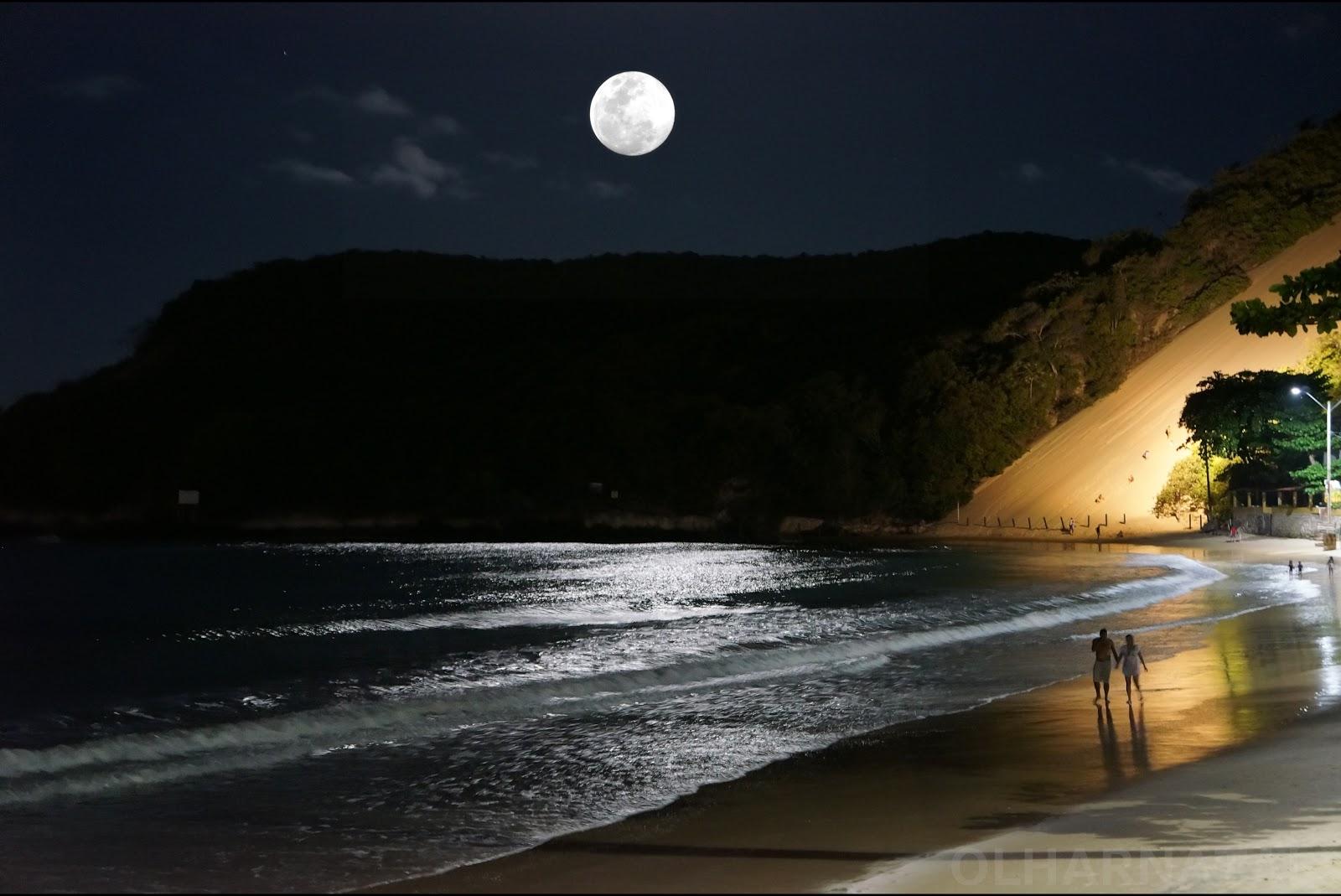 Mensagens Lua Cheia: Blog Do Senadinho: Luar Em Ponta Negra