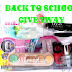 BACK TO SCHOOL GIVEAWAY '16