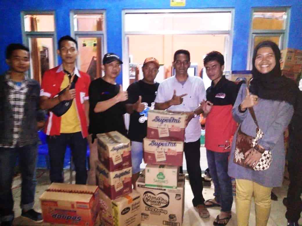 Forum Otomotif Lampung Turunkan Team TRC dan Bantuan untuk Lampung Selatan