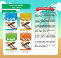 Buku Pendidikan Tajwid Jilid 1-4 Attuqa