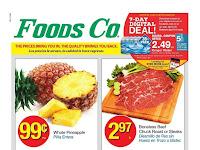 Foods Co Weekly Specials April 24 - April 30, 2019