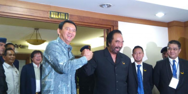 Gubernur DKI Diserang Kasus Reklamasi, Surya Paloh: Ahok Masih yang Terbaik