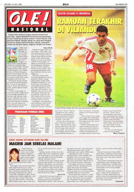 TULEVIK VILJANDI VS INDONESIA