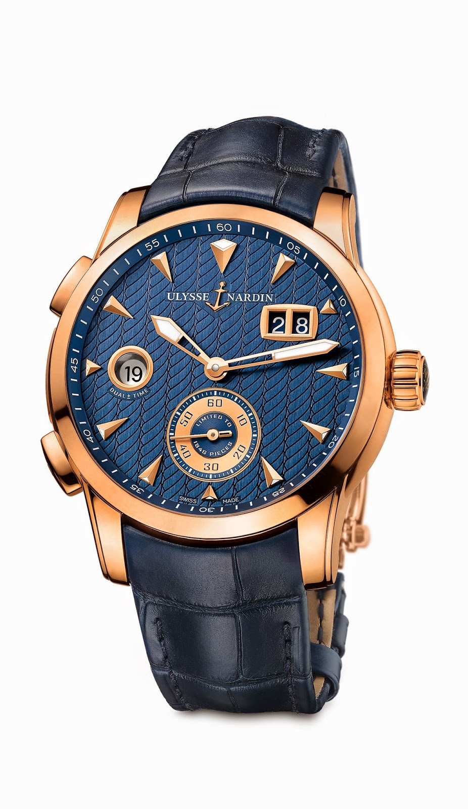 Ullysse Nardin Dual Time Manufacture1