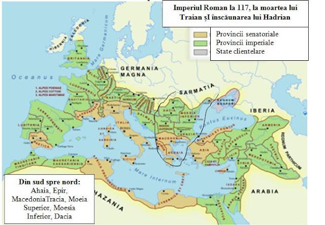 Imperiul Roman la 117