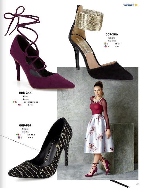 zapatos para las damas