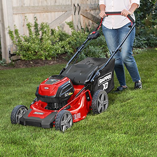 snapper cordless lawnmower