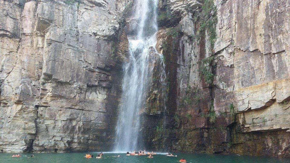 Cachoeira dos Canions de Furnas - Minas Gerais