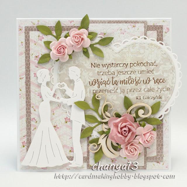 362. Kartka ślubna