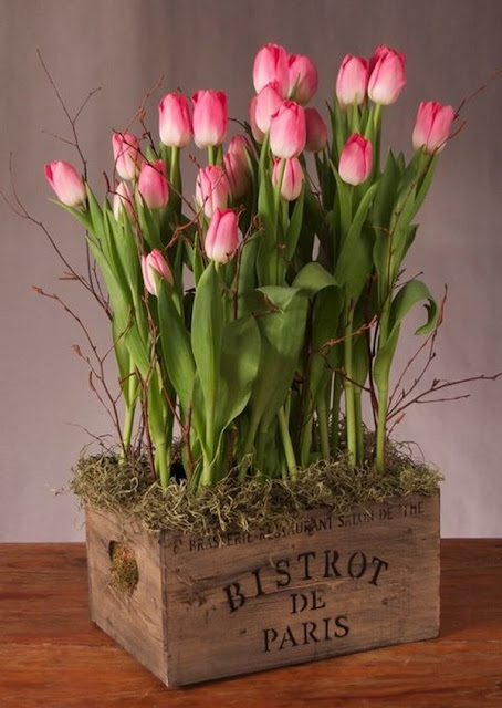 Floral Arrangements With Tulips 1