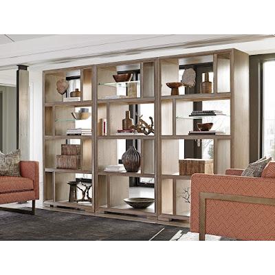 mid century modern bookshelf