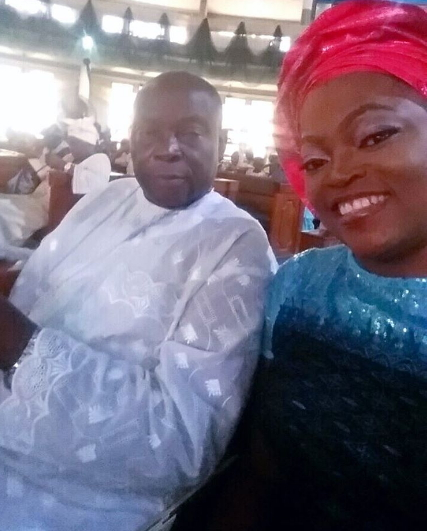 funke akindele father