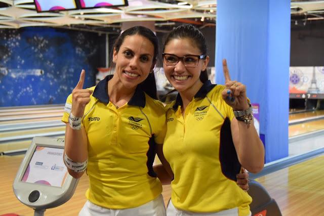 Clara Guerrero y Rocío Restrepo ganaron el oro en boliche femenil de los Juegos Mundiales 2017 para Colombia