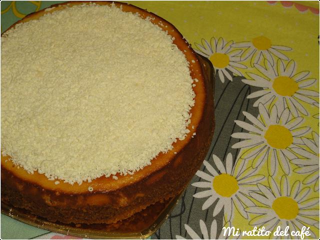 Cheesecake de coco y Baileys