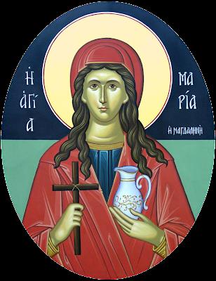 Αποτέλεσμα εικόνας για Αγία Μαρία η Μαγδαληνή η Μυροφόρος και Ισαπόστολος
