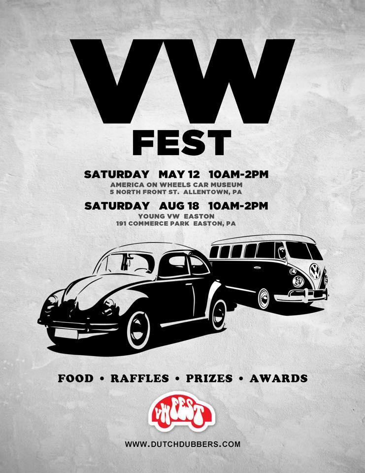 Volkswagen Car Club Lehigh Valley PA | Allentown | Bethlehem | Easton | Aircooled | Watercooled