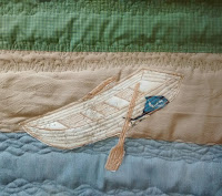 ProsperityStuff Rowboat for Nautical Quilt