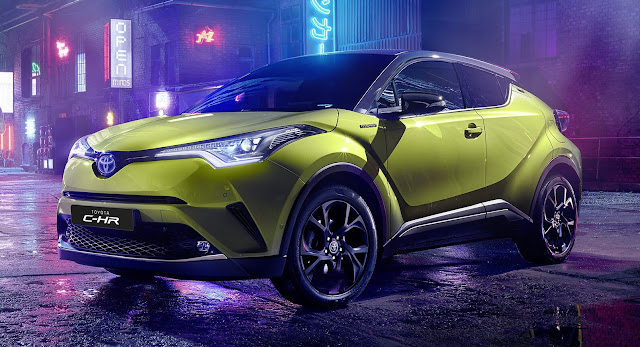 Kolaborasi Toyota & JBL Lahirkan CHR Neon Lime Limited Edition