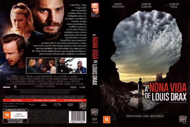Capa DVD A Nona Vida de Louis Drax