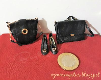 Miniature shoes,