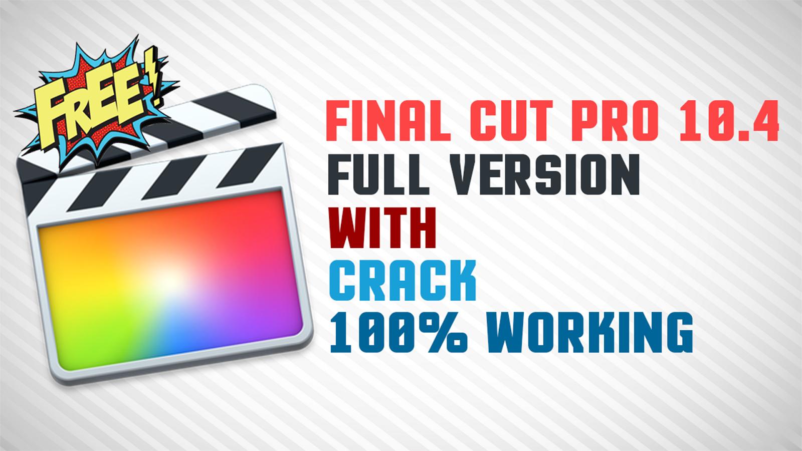 final cut pro x free download full version