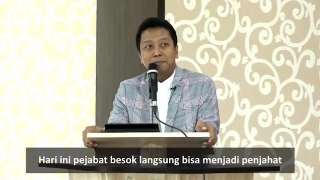 Diciduk KPK, Video Lawas Rommy Viral: Hari Ini Pejabat, Besok Bisa Langsung jadi Penjahat