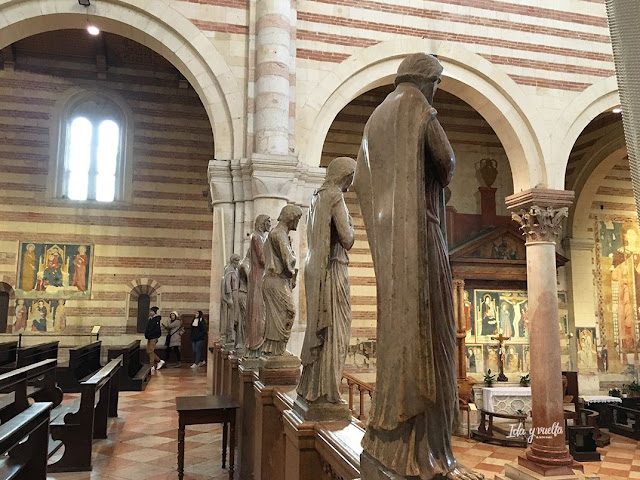 San Zeno Verona estatuas