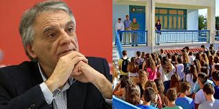 Κώστας Πουλάκης: «Να καταργηθεί η προσευχή στα σχολεία»