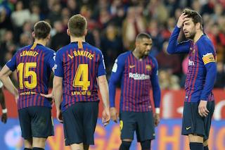 اهداف وملخص ونتيجة مباراة برشلونة واشبيلة 6-1 اليوم 30/1/2019 كأس ملك اسبانيا Barcelona vs Sevilla