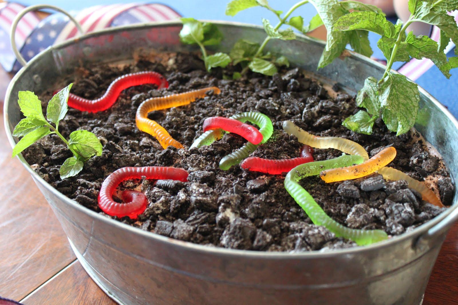 Earthworm Cake Recipe