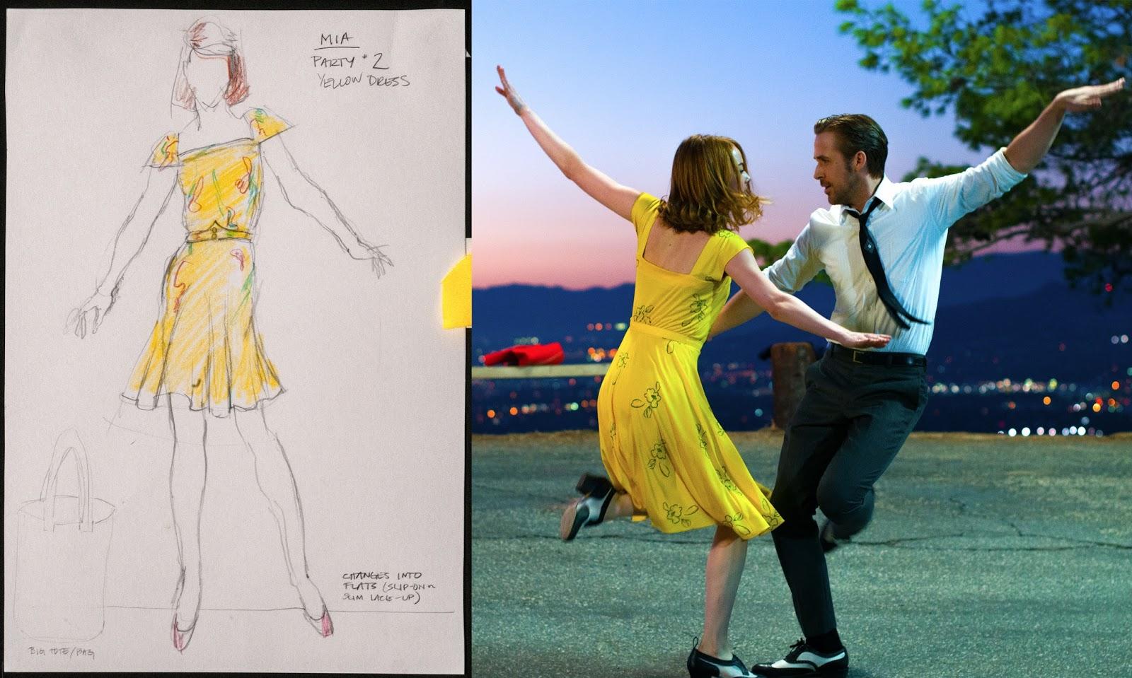Emma Stone y Ryan Gosling bailando  - LaLaland
