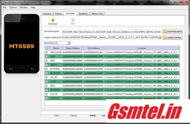 Hisense HS-U980 Mt6589 firmware 100% tested | GSMTEL IN