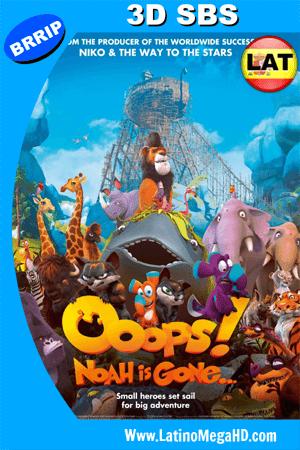 Ooops! El Arca Nos Dejó (2015) Latino Full 3D SBS 1080P ()