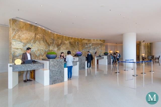 Reception Desk | Kerry Hotel Hong Kong