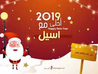 صور العام الجديد 2019 احلى مع اسيل