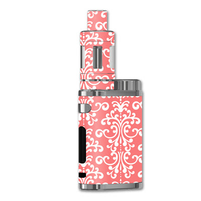Coral Damask Sticker For iStick Pico