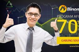 Afiliasi Binomo Dengan Bagi Hasil Hingga 70%