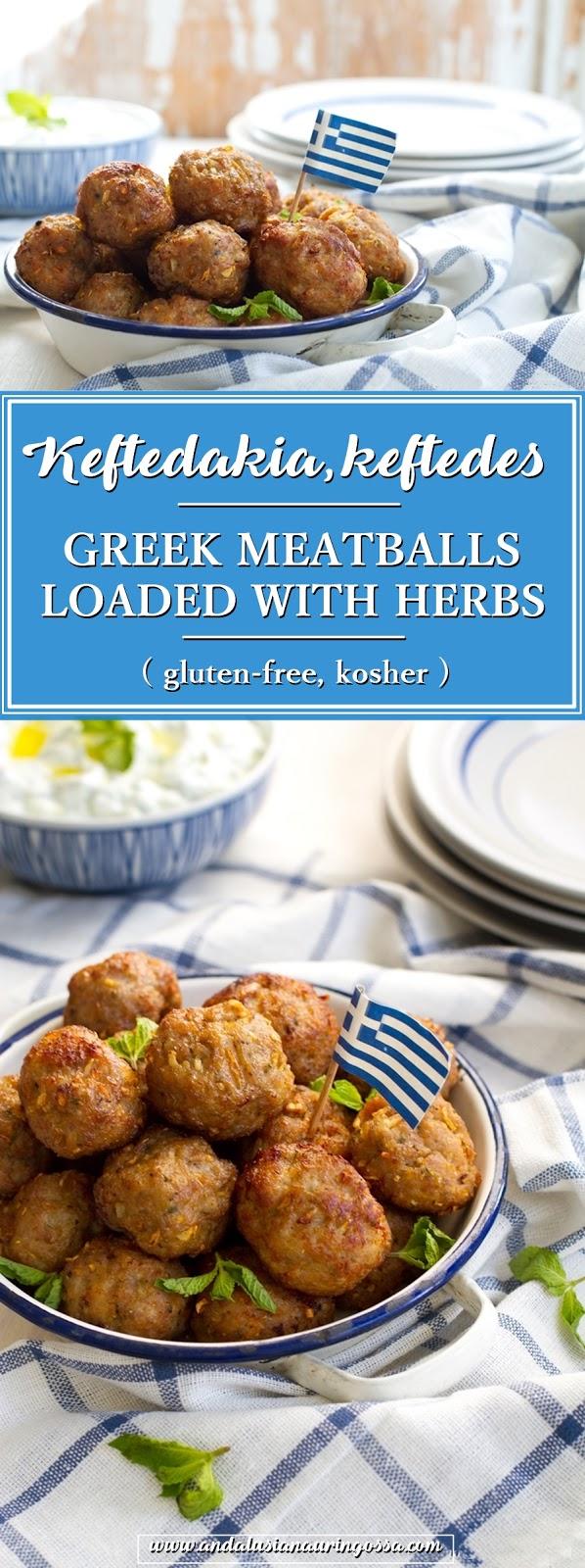 keftedes_keftadakia_kreikkalaiset yrttiset lammaslihapullat_Andalusian auringossa_ruokablogi_matkablogi_gluteeniton, kosher_PINTEREST