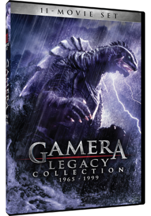 DVD Review - Gamera Legacy Collection 1963 - 1999