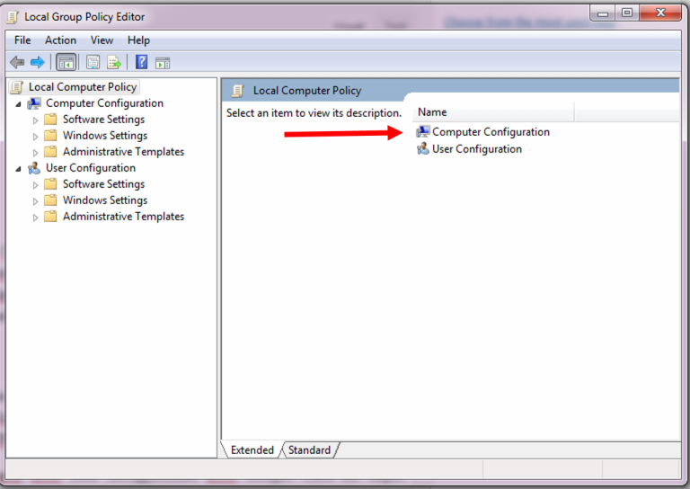 Cara mempercepat koneksi internet pada pc atau laptop for Computer configuration administrative templates