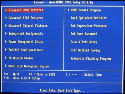 Fungsi Pengaturan Pada BIOS Umumnya