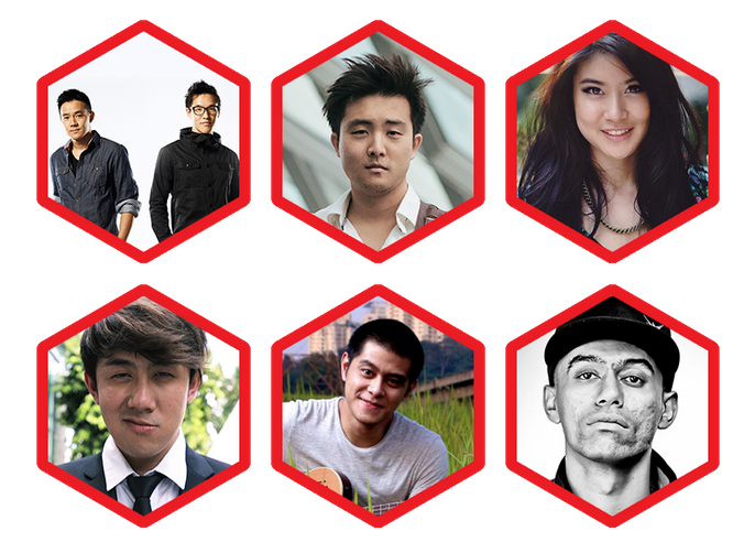#OOHSOME Fest ft Wong Fu, David Choi,  Fung Brothers, Elizabeth Tan, Caprice, Narmi, Joseph Germani & many more!! | 13 Dec 2014
