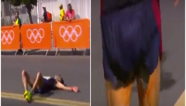 Conoce al atleta que sangró, se cayó y sufrió diarrea mientras corría en Río