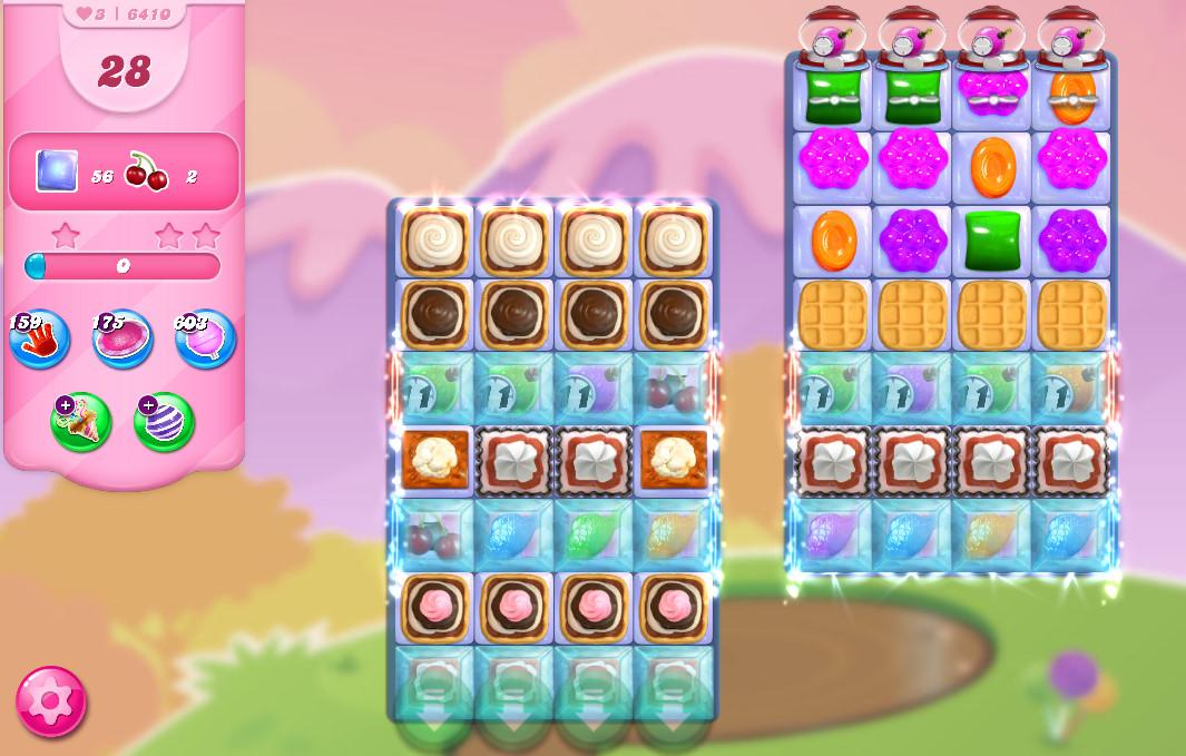 Candy Crush Saga level 6410