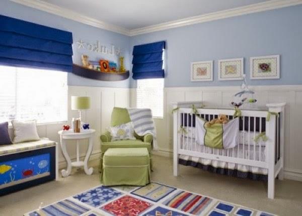 Dormitorios estilo marinero para beb s dormitorios - Habitaciones infantiles marineras ...