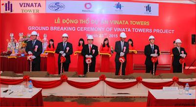 Lễ động khởi công dự án Vinata Tower