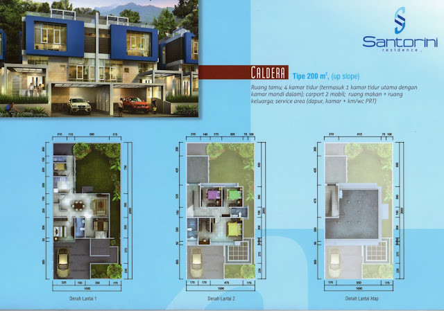 Rumah-Tipe-Cluster-Caldera-Santorini-Residence-Sentul-City