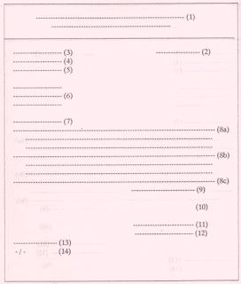 Contoh Surat lamaran kerja bentuk Hanging Paragraph Paragraf menggantung